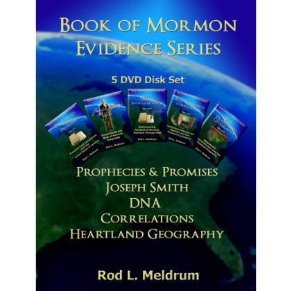 Book of Mormon Evidence 5 DVD Series by Rod Meldrum (DVD)