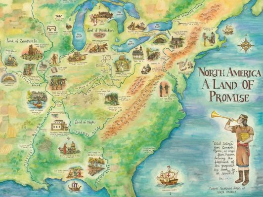 North America, A Land of Promise LR