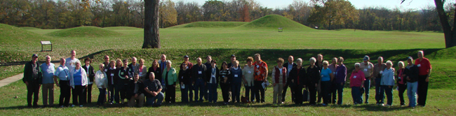 Heartland Tour Group at Mound City